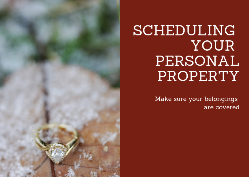 Scheduling your Personal Property